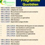 Programme Quotidien