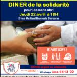 DINER de la solidarité